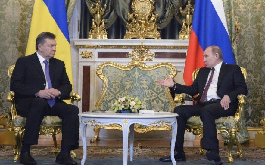 Putin o jedną trzecią obniżył cenę gazu dla Ukrainy