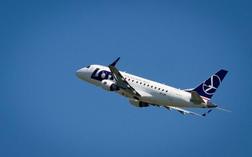 Выводы расследования: самолеты над Литвой были слишком близко, но опасности не было