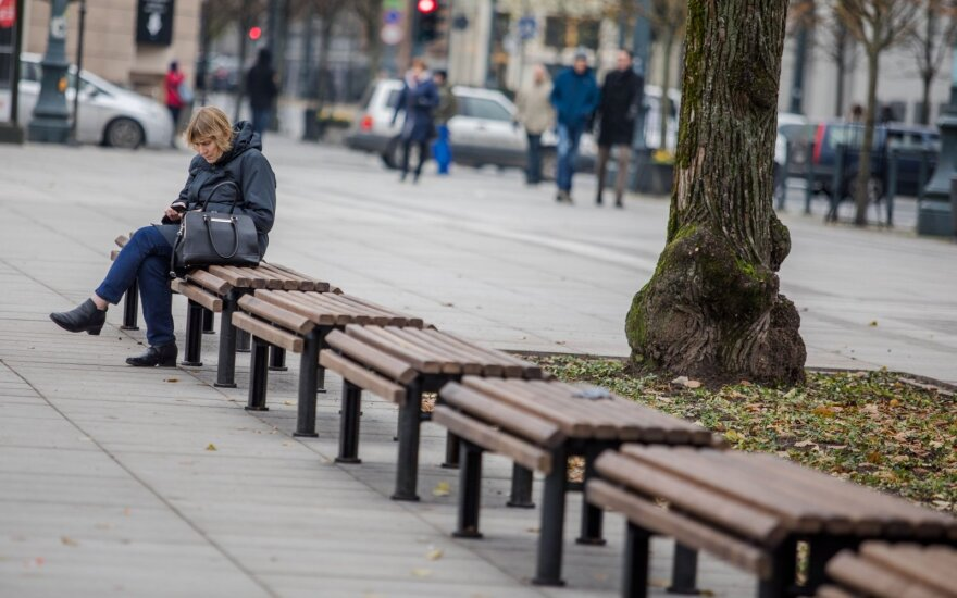 Украденную на Лукишкской площади технику журналистов LNK нашли в куче листьев