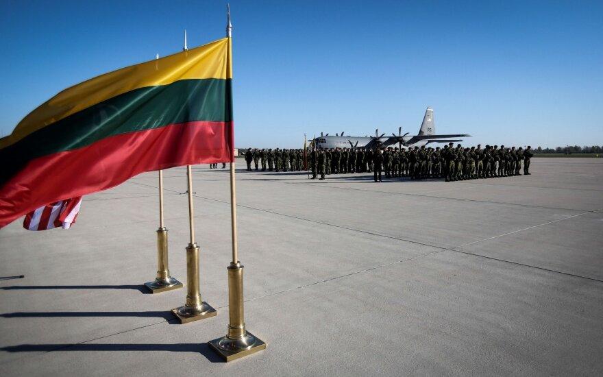 Приступил к исполнению обязанностей новый командующий ВВС Литвы