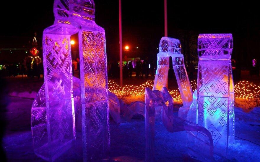 На выходных в Литве состоятся фестивали ледовых скульптур