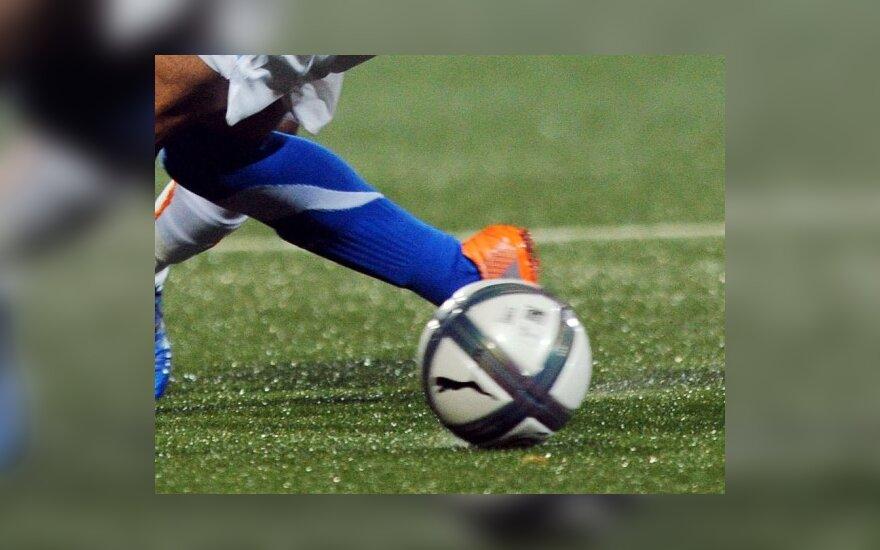 Бразильский футболист снял трусы с арбитра