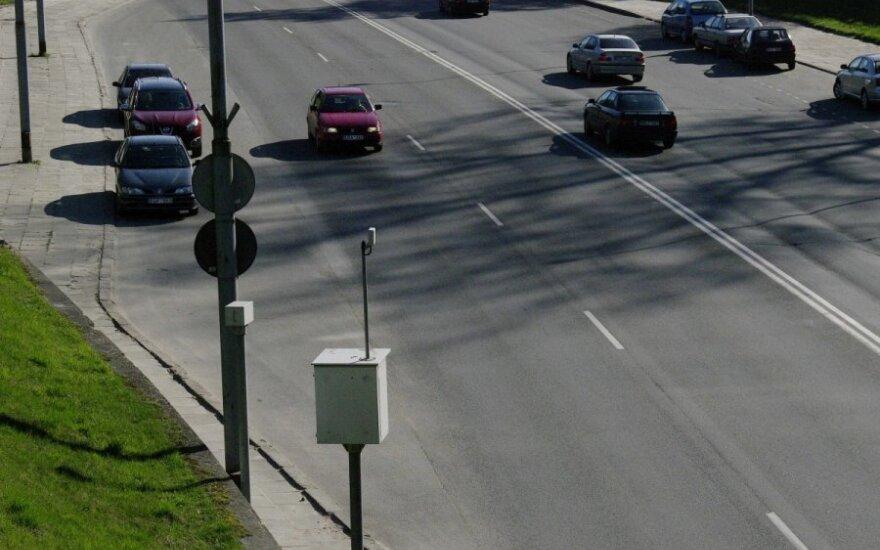 Водители одного города Литвы отличились: радары зафиксировали почти 16 500 нарушений