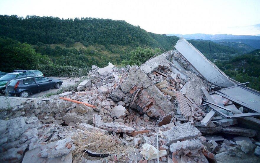 Землетрясение в центральной части Италии: число погибших растет