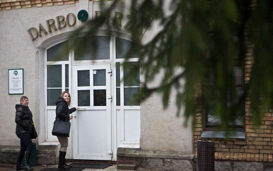 Уровень безработицы в Литве за месяц повысился на 0,2 пункта до 8,3%