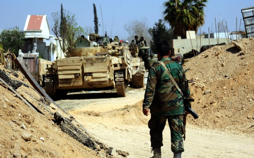 Reuters: Турция усилила военную поддержку повстанцев в Сирии
