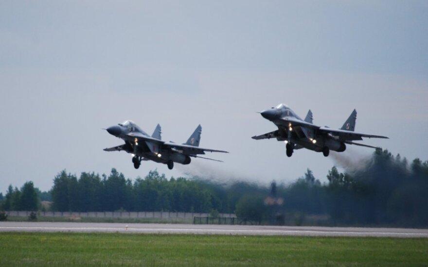 Литва хочет утвердить продолжение миссии воздушной полиции в декларации НАТО