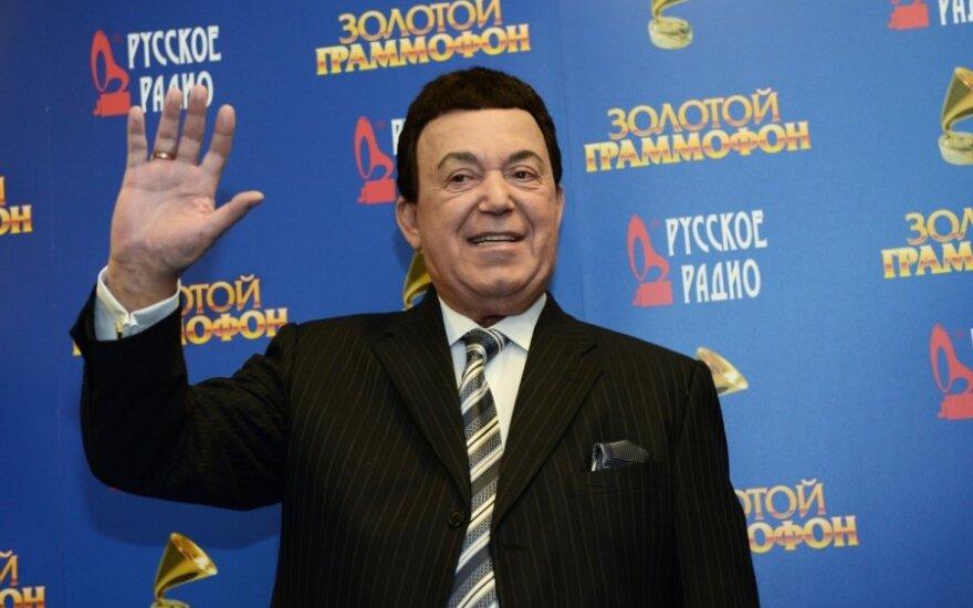 Иосиф Кобзон повторно обратился в Конституционный суд Латвии