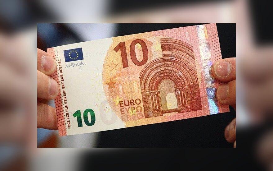 ЕЦБ показал новую купюру в 10 евро