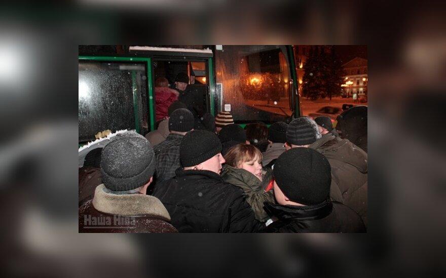 "Разгон  мирной акции ""Люблю Беларусь!"" 14 февраля. Фото: Наша Ніва."