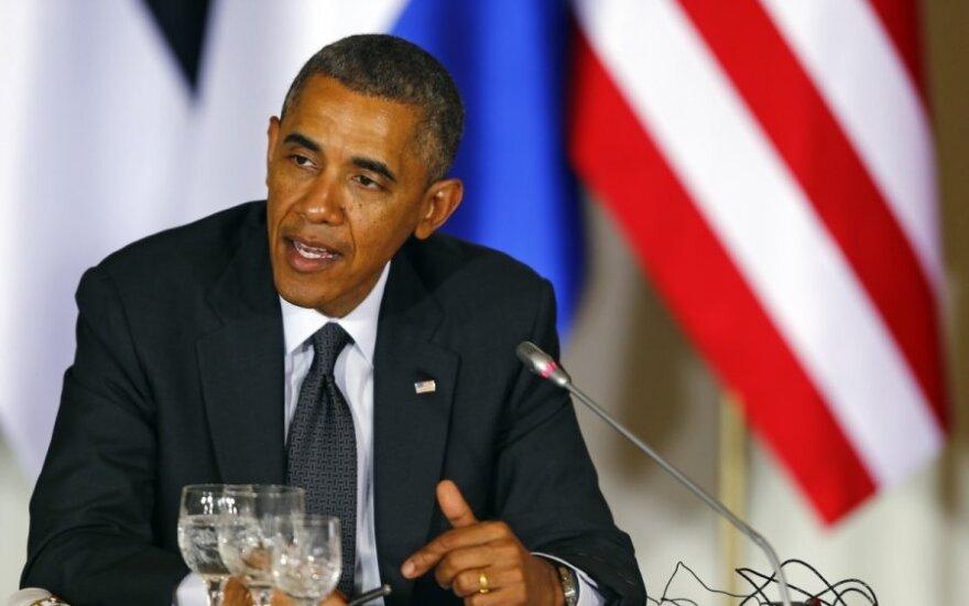 Обама заверил Балтию в неизменно твердой поддержке