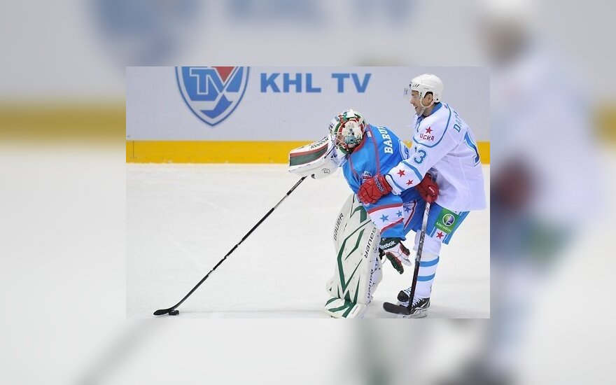 Матч звезд КХЛ: Восток победил Запад со счетом 18:11