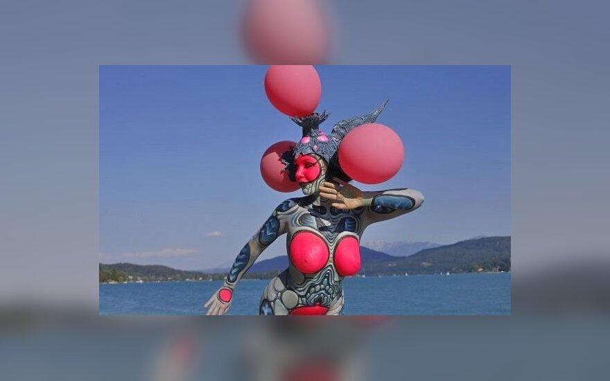 В Австрии показали лучший боди-арт в мире