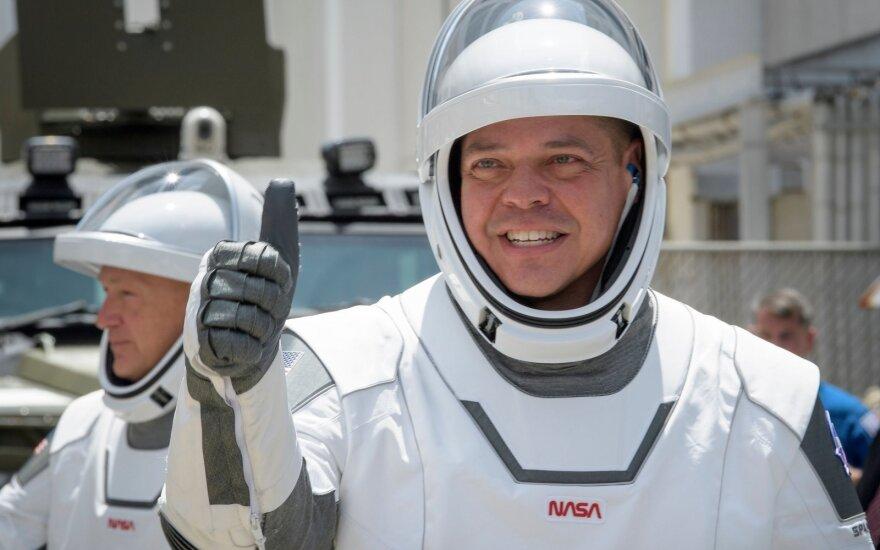 Ruošiamasi SpaceX skrydžiui