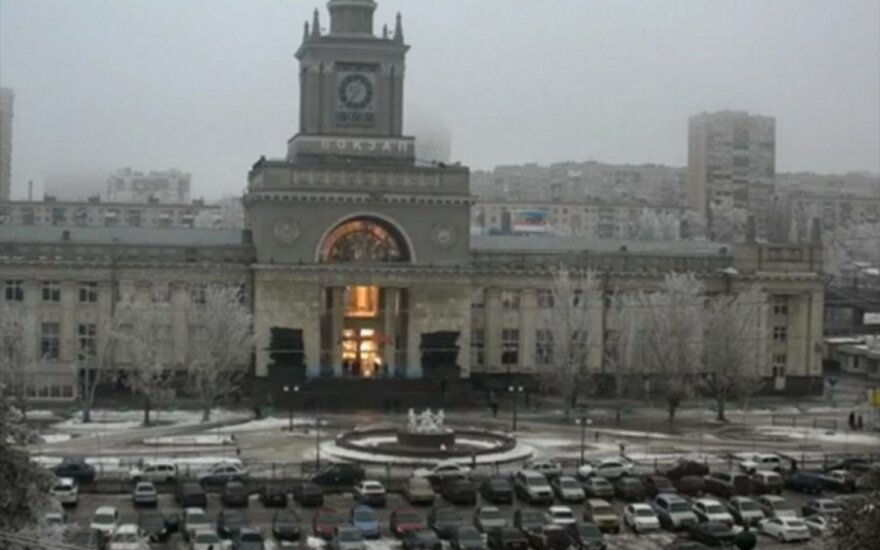 Sprogimas Volgogrado geležinkelio stotyje
