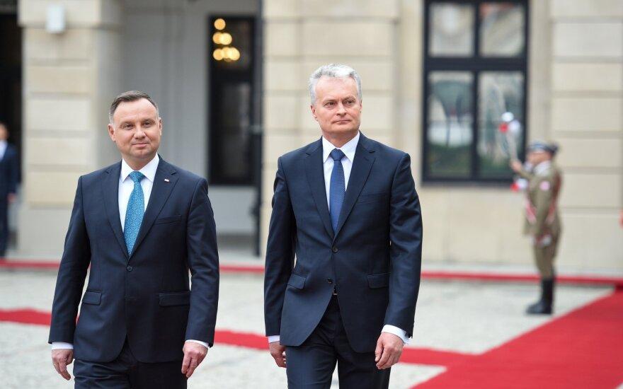 Президенты Литвы и Польши призвали власти Беларуси не применять силу