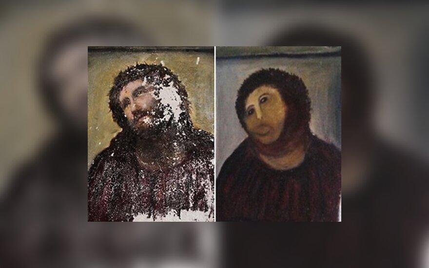 """Испанская старушка требует гонорар за """"пушистого Иисуса"""""""