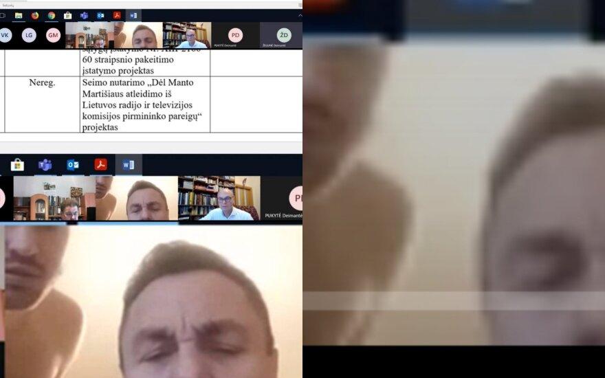 В интернете распространяют видео: мужчина рядом с депутатом Гражулисом вызвал немало вопросов