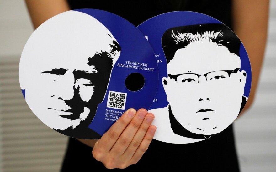 Дональд Трамп прилетел в Сингапур на встречу с Ким Чен Ыном