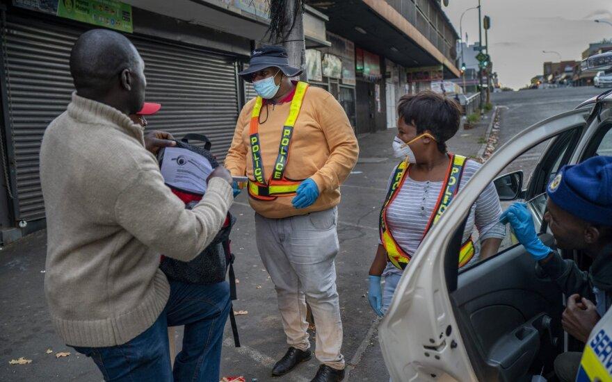 Koronavirusas Pietų Afrikoje