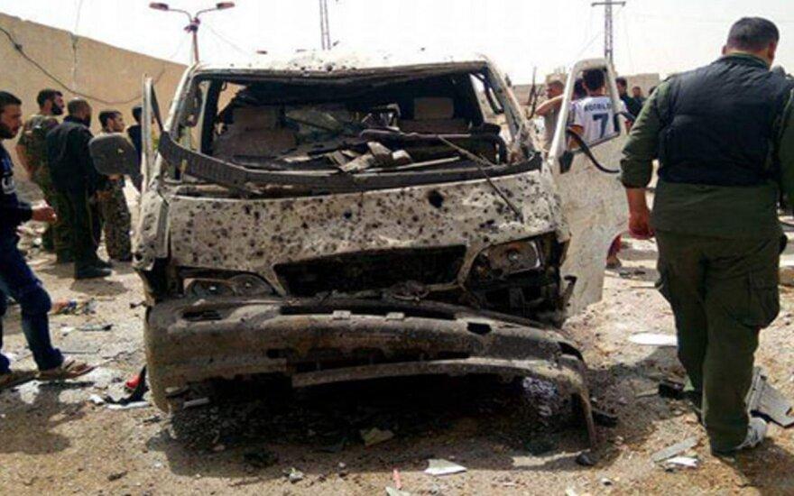 Per sprogimą Sirijoje žuvo septyni žmonės
