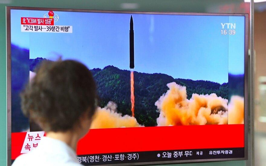 КНДР произвела пуск нескольких ракет