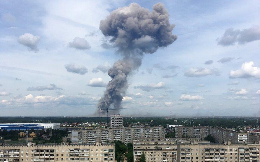 ФОТО, ВИДЕО: в цехе по производству тротила в Дзержинске прогремели взрывы, много пострадавших