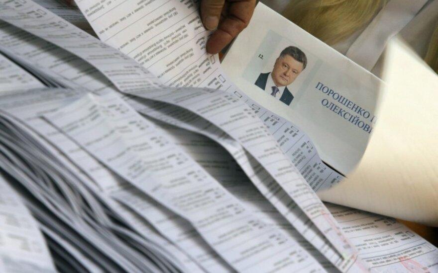 На выборах президента Украины в Литве проголосовали 209 украинцев