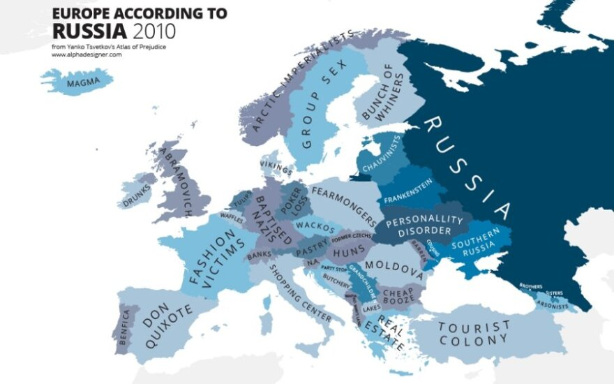 Europa według Rosjan