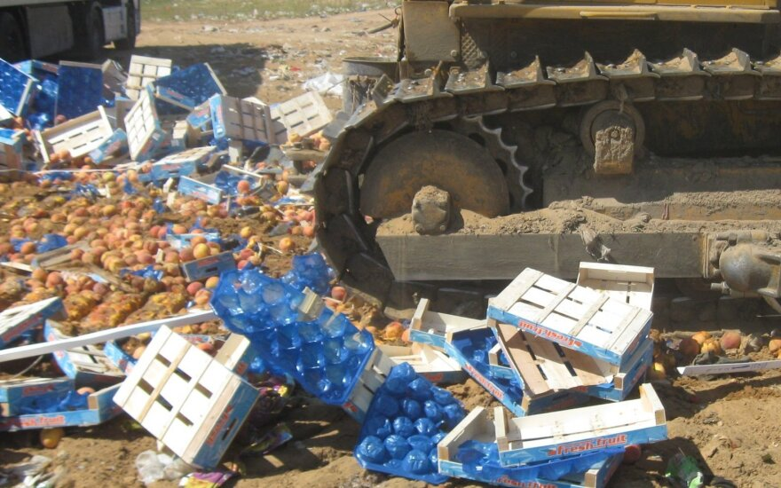 Россельхознадзор уничтожает по 150 тонн санкционных продуктов в день