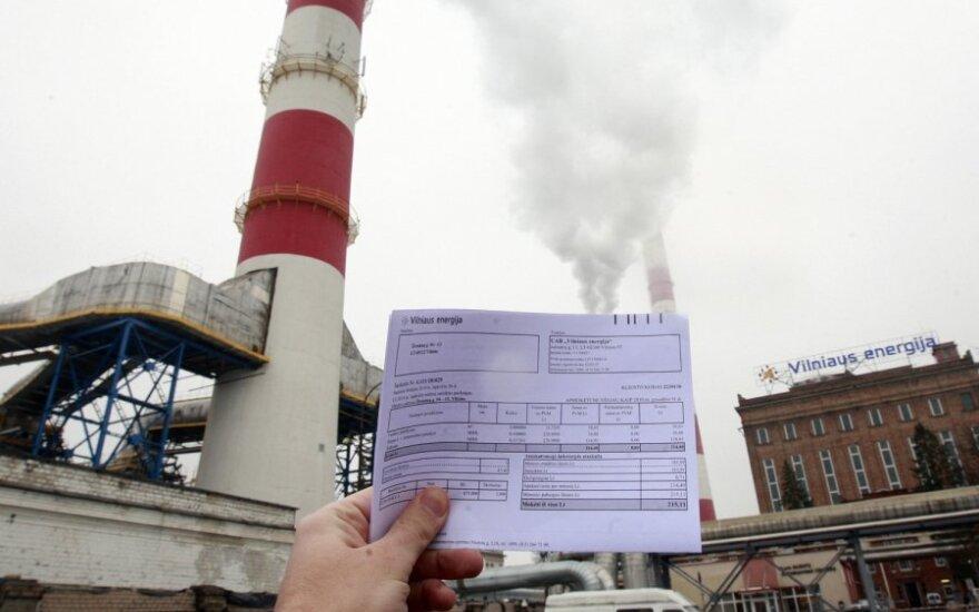 Šiluma, šilumos kainos, šildymas. šildymo kainos, sąskaitos už šilumą, sąskaitos už šildymą, sąskaitos, Vilniaus energija, energija, sąskaitos, sąskaita už šildymą