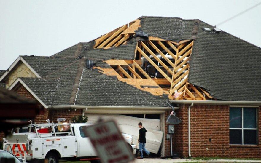 """На Техас обрушился ураган """"Харви"""" - возможно, худший за 12 лет"""