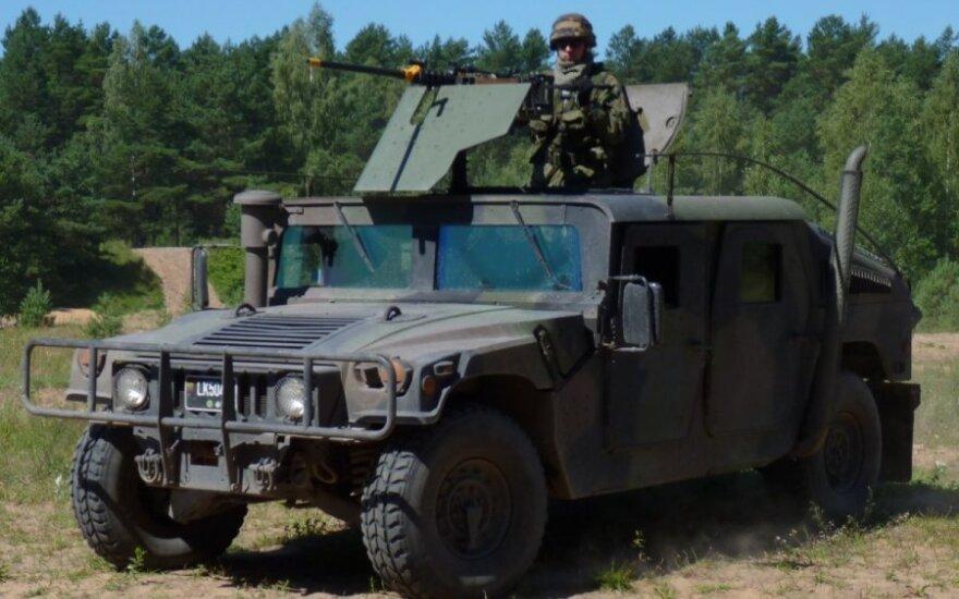 На новые бронированные внедорожники Литва выделит около 142 млн евро