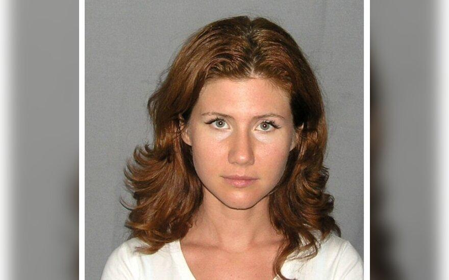 Rusijos šnipė Anna Chapman. thesmokinggun.com nuotr.