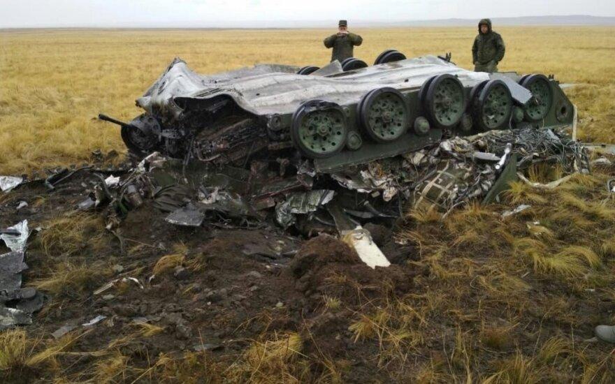 ФОТО, ВИДЕО: в РФ две бронемашины разбились при неудачном десантировании на учениях