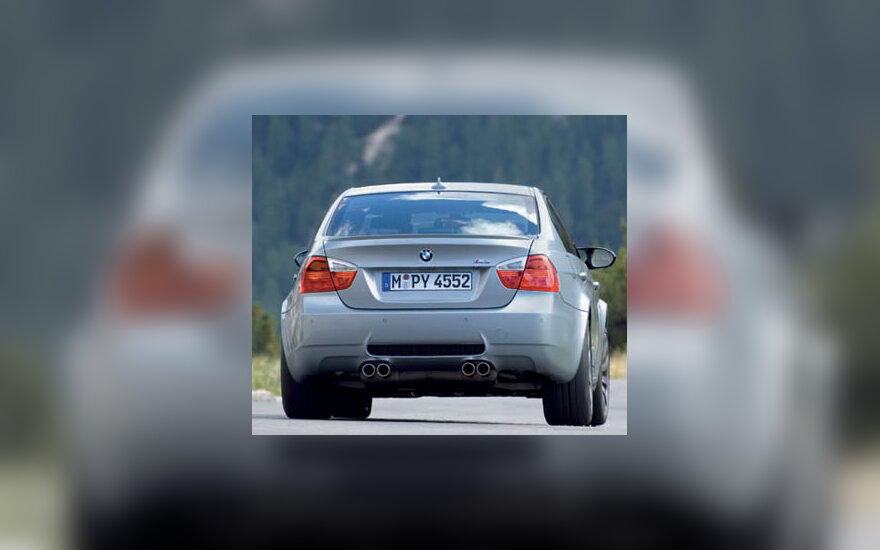 """""""BMW M3"""" sedanas"""