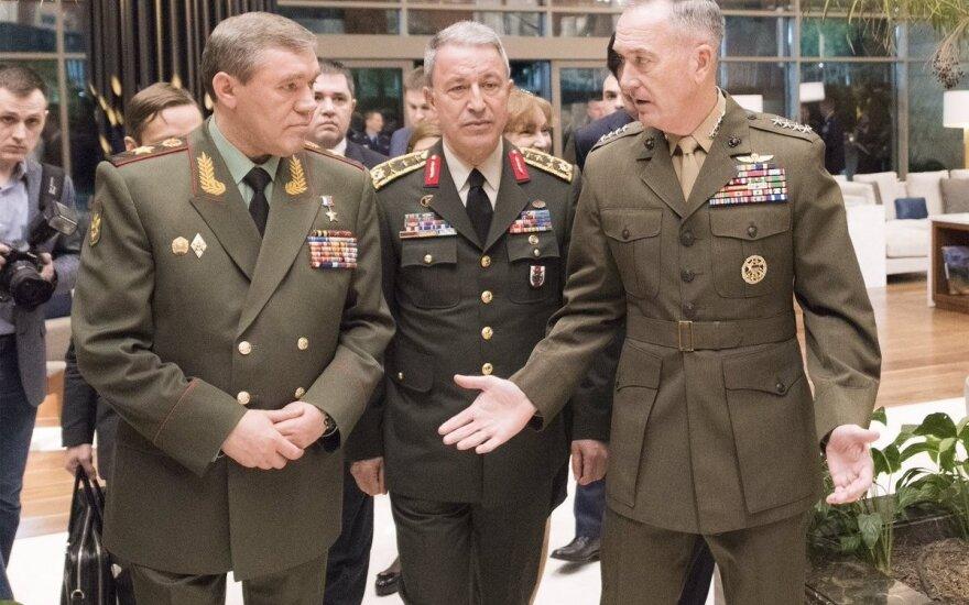 В Анталии встретились начальники Генштабов США, России и Турции