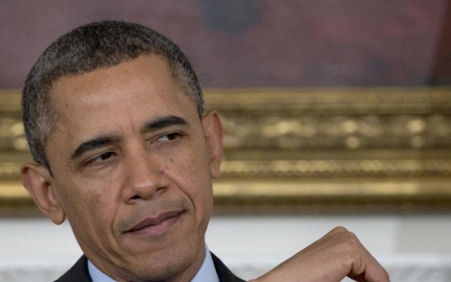 Barackas Obama ir musė