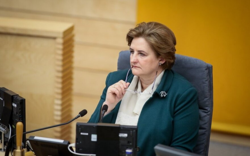 Loreta Graužinienė: W 2015 roku średnie wynagrodzenie wyniesie 3 tys. litów