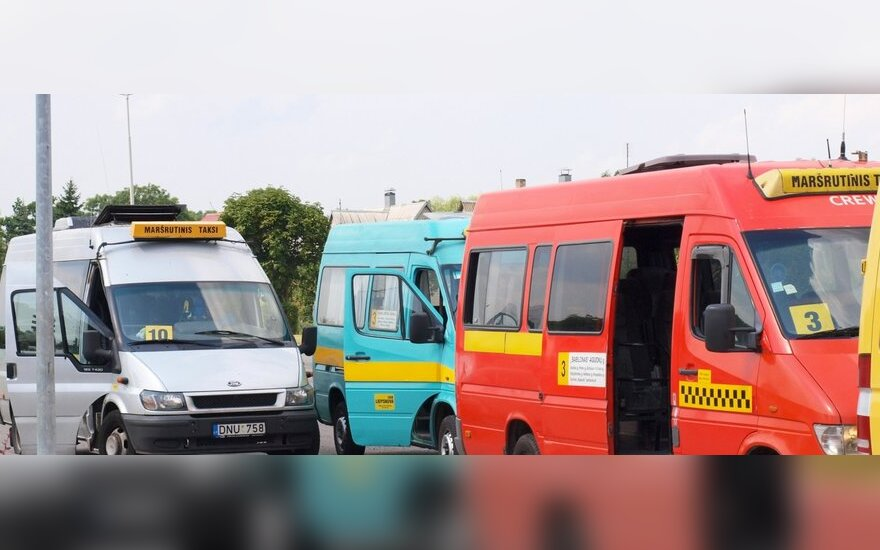 В Вильнюсе меняются маршруты пяти микроавтобусов