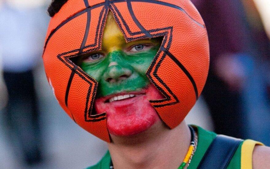 Литовский баскетбольный болельщик