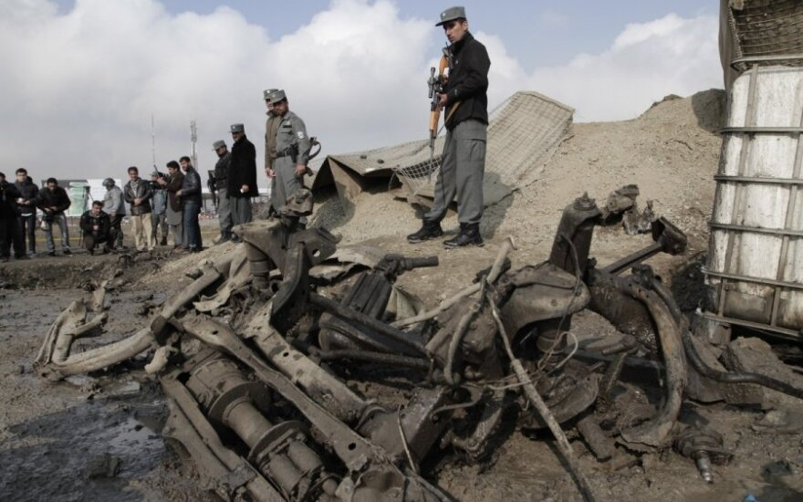 Po išpuolio prie NATO būstinės Kabule