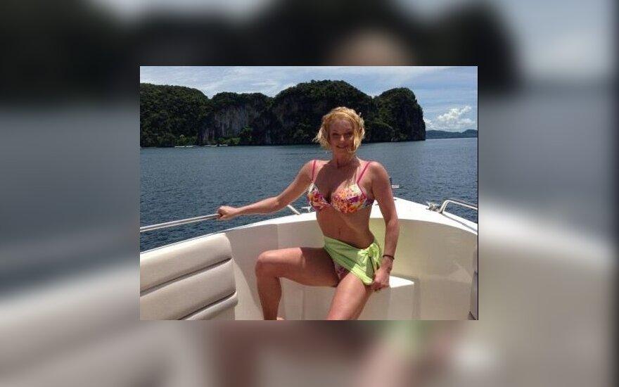 Анастасия Волочкова. Фото: twitter.com