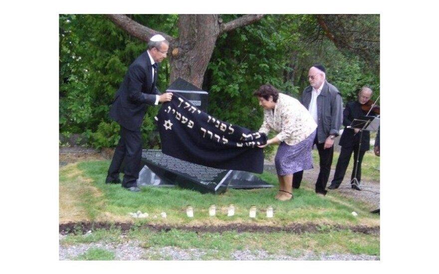 В Таллинне открыли памятник жертвам сталинских репрессий