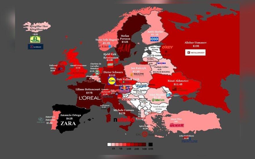 Najbogatsi ludzie państwa i ich spółki. Foto: vox.com