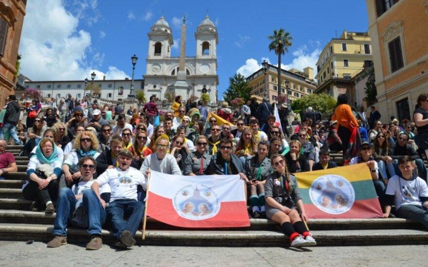 Młodzież powróciła z kanonizacji Jana Pawła II i Jana XXIII