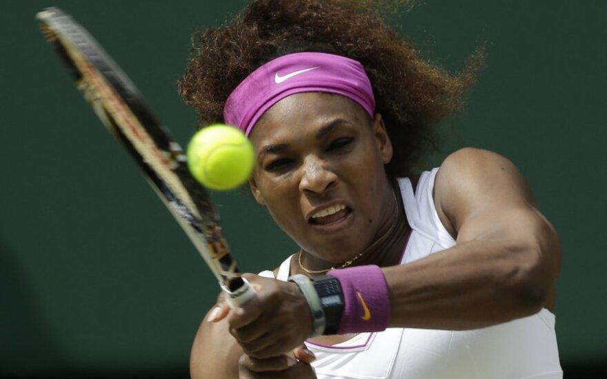 US Open: Тсонса сошел тихо, Уильямс-старшая - в суровом бою