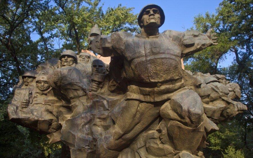 Paminklas panfiloviečiams Kazachstate