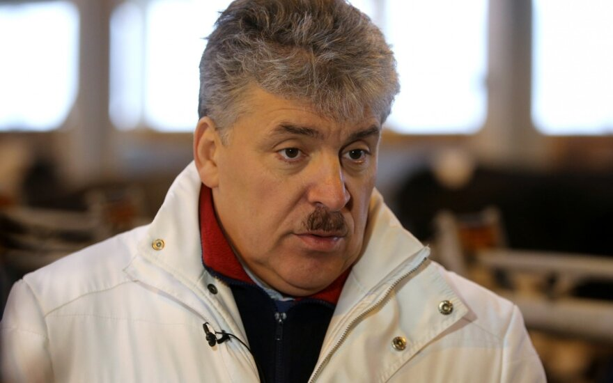 Грудинин отказался от дебатов, Собчак и Жириновский договорились нарушать регламент