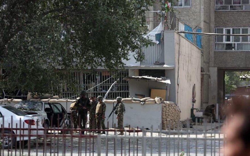 Смертник устроил теракт в Кабуле недалеко от американского посольства